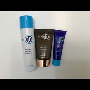 """It's a 10"" Hair Product Bundle"